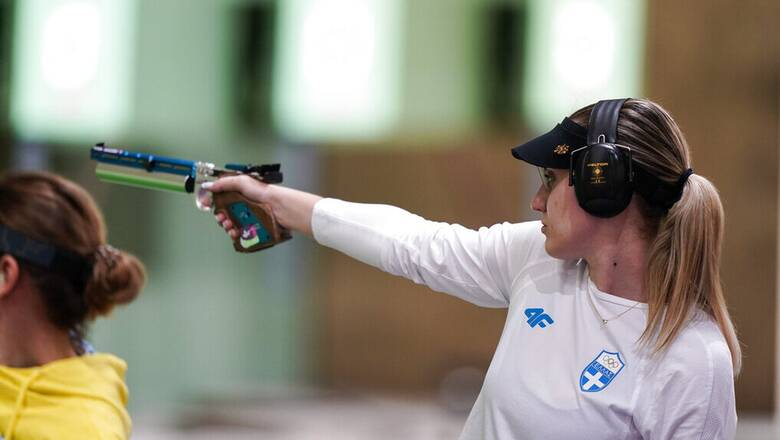 Ολυμπιακοί Αγώνες Τόκιο: Στον τελικό των 25μ. η Άννα Κορακάκη