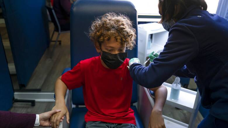 Εμβολιασμός: Ανοίγει η πλατφόρμα για τα παιδιά άνω των 12 ετών