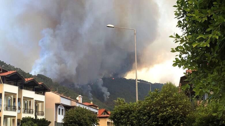 Τουρκία: Τέσσερις νεκροί στις δασικές πυρκαγιές - Υποψίες για εμπρησμό