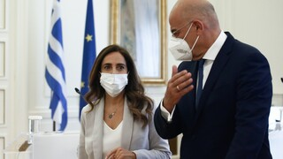Συνάντηση Δένδια με ΥΠΕΞ Λιβάνου - «Μας ανησυχεί ο αποσταθεροποιητικός ρόλος της Τουρκίας»