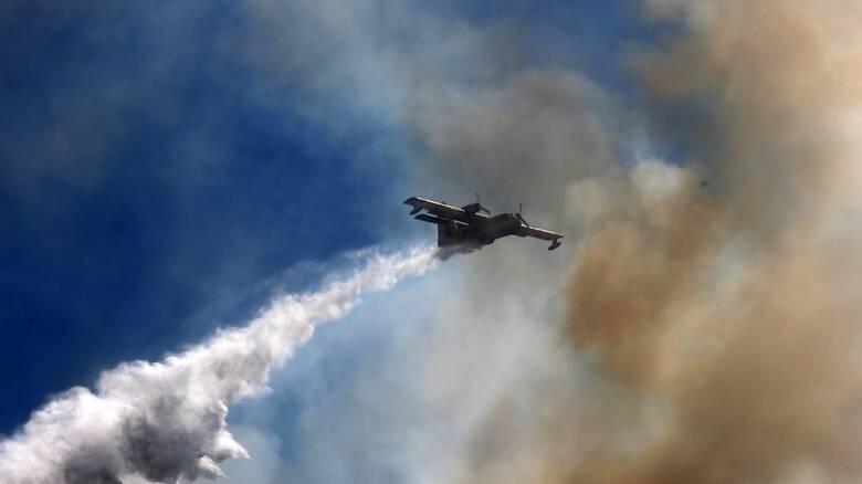 Φωτιά στη Ζήρια Αχαΐας: Εκκενώνονται προληπτικά τέσσερα χωριά