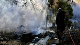 Φωτιά στη Ζήρια Αχαΐας: Απομακρύνθηκαν 100 παιδιά από κατασκήνωση