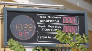 Καύσωνας: Σε 87 περιοχές η θερμοκρασία ήταν μεγαλύτερη των 40 βαθμών