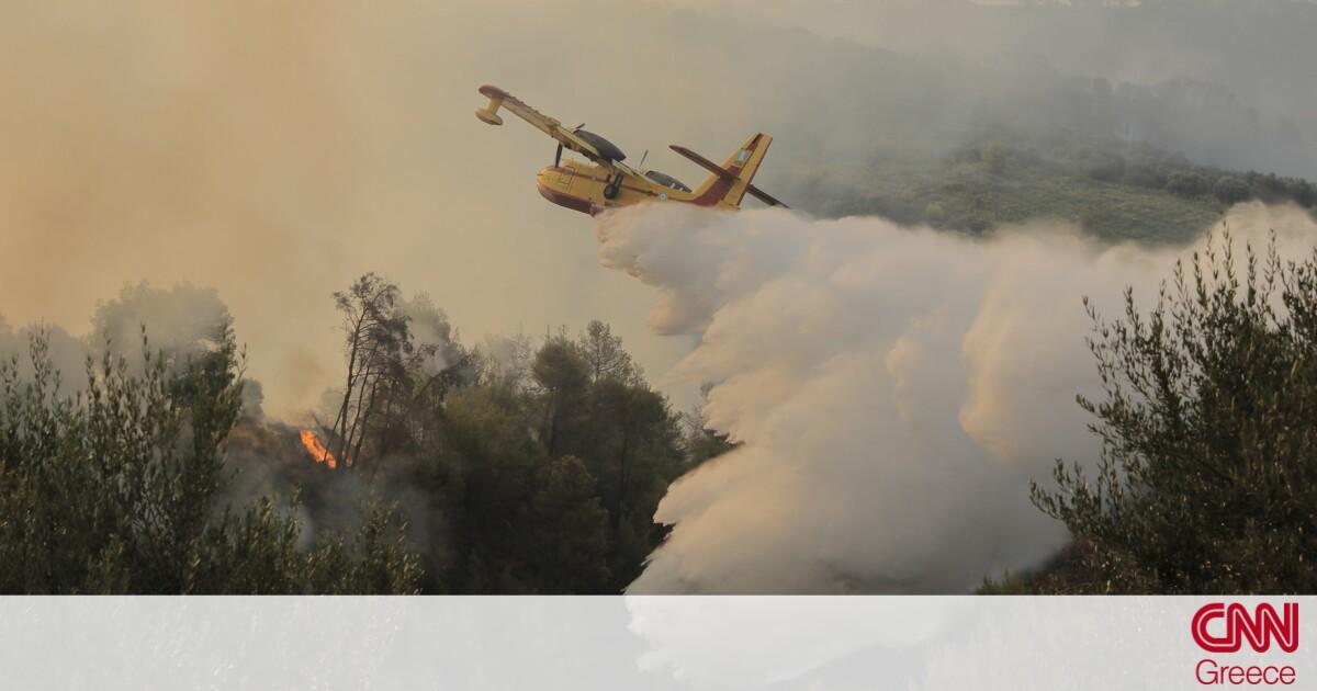 Φωτιά στην Αχαΐα: Μαίνεται το πύρινο μέτωπο – 16 τραυματίες, «στάχτη» 20 σπίτια