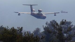Φωτιά στη Ρόδο: Μάχη κατάσβεσης - Απομάκρυνση τουριστών από την Κοιλάδα των Πεταλούδων