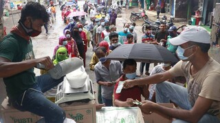 Ινδία- Κορωνοϊός: 422 θάνατοι και πάνω από 40.000 κρούσματα σε μία ημέρα