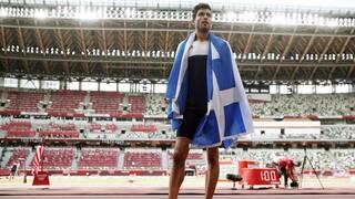 Ολυμπιακοί Αγώνες Τόκιο - Τεντόγλου: Αφιερωμένο το μετάλλιο σε όλους τους Έλληνες