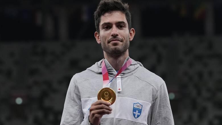 Ολυμπιακοί Αγώνες Τόκιο - Τεντόγλου: Η απονομή του χρυσού μεταλλίου