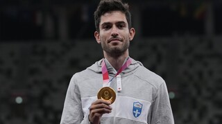 Ολυμπιακοί Αγώνες Τόκιο- Τεντόγλου: Η απονομή του χρυσού μεταλλίου