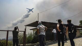 Τουρκία: Η Ε.Ε. ενισχύει τη χώρα με τρία Canadair- Οι πυρκαγιές μαίνονται για έκτη μέρα
