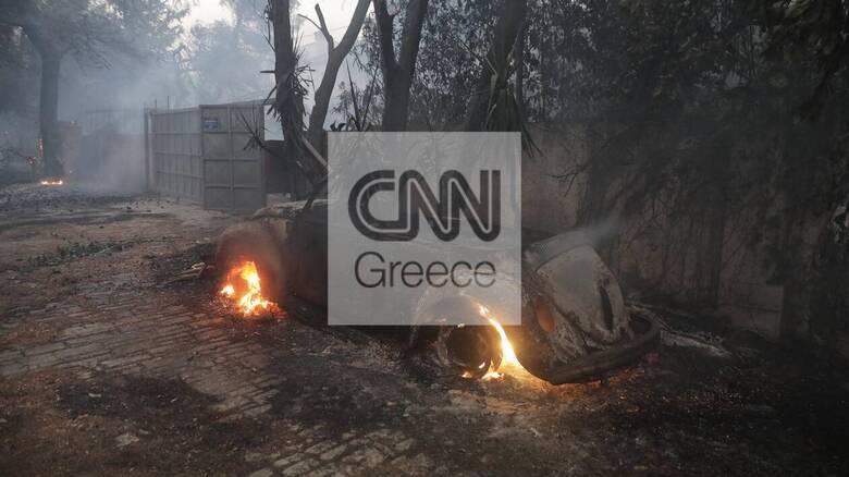 Φωτιά: Δύσκολη νύχτα σε Βαρυμπόμπη, Τατόι και Θρακομακεδόνες - Κάηκαν σπίτια στις Αδάμες