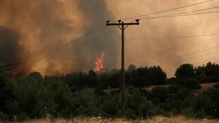 Φωτιά Βαρυμπόμπη: Προβλήματα υδροδότησης σε τουλάχιστον 13 περιοχές της Αττικής