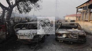 Σε ύφεση η πυρκαγιά στη Βαρυμπόμπη: Μόνο ένα ενεργό μέτωπο - Αγώνας δρόμου για την οριοθέτησή του
