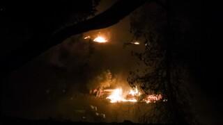 Πυρκαγιές:Καλύτερη εικόνα σε Μεσσηνία και Λακωνία - Ξεκίνησαν ρίψεις τα εναέρια μέσα