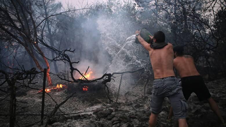 Φωτιά στη Βαρυμπόμπη:Εκκενώθηκε και μέρος του Κρυονερίου - Κυκλοφοριακές ρυθμίσεις