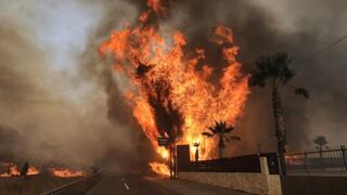 Μήνυμα του 112 σε Ρόδο και Κρήτη - Ακραίος κίνδυνος πυρκαγιάς σήμερα