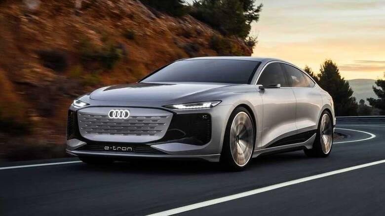 Το ηλεκτρικό Audi A6 e-tron θα παρουσιαστεί το 2022