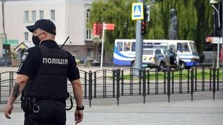 Ουκρανία: Άνδρας απειλούσε να πυροδοτήσει χειροβομβίδα στην έδρα της κυβέρνησης