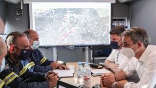 Χαρδαλιάς για φωτιά στη Βαρυμπόμπη: Κάηκαν 12.500 στρέμματα, σοβαρές ζημιές σε 94 σπίτια