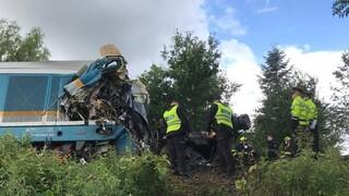 Σύγκρουση τρένων στην Τσεχία: Τρεις νεκροί και οχτώ τραυματίες