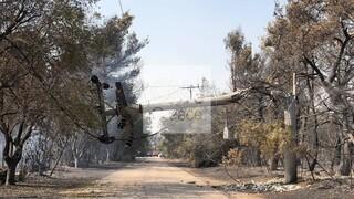ΑΔΜΗΕ: Δεν υπήρξε καμία έκρηξη μετασχηματιστή - Συνεχίζεται η αποκατάσταση στη Βαρυμπόμπη