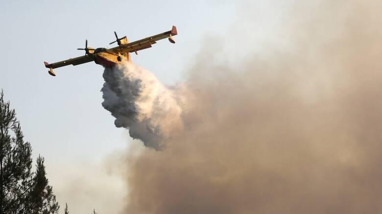 Φωτιά Μεσσηνία: Μήνυμα του 112 για εκκένωση των οικισμών Μοναστηράκι και Άγιοι Θεόδωροι