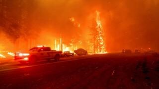 Πυρκαγιές στην Καλιφόρνια: 2.000 άνθρωποι κλήθηκαν να απομακρυνθούν από τα σπίτια τους