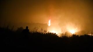 Καλύτερη η «εικόνα» στις πυρκαγιές σε Κεντρική και Δυτική Μακεδονία