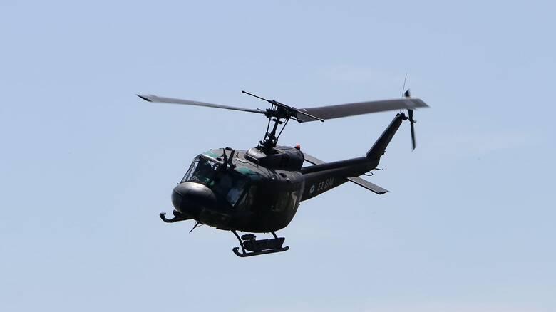 Στη μάχη με τις πυρκαγιές ο στρατός - Περιπολίες από αεροσκάφη και drones