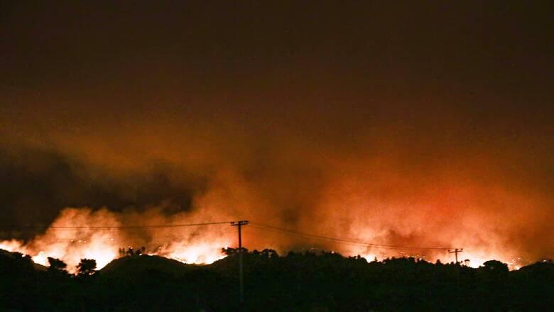 Μήνυμα 112 σε όλη τη χώρα: «Αποφεύγουμε άσκοπες μετακινήσεις, υψηλός κίνδυνος πυρκαγιάς»