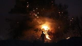 Φωτιά Εύβοια: Καίγονται σπίτια στην Κεράμεια - Νέα εκκένωση διά θαλάσσης της Αγίας Άννας