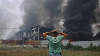 Φωτιά Αττική: «Η μάχη των Αφιδνών» - Δυσκολεύουν την κατάσβεση οι άνεμοι
