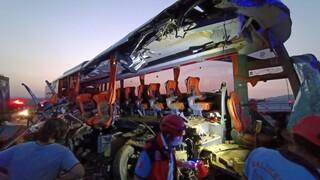 Τουρκία: Σφοδρή σύγκρουση λεωφορείου με φορτηγό - Εννέα νεκροί και 30 τραυματίες