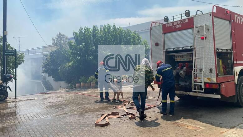 Φωτιά στην Αττική: Νεκρός 38χρονος εθελοντής πυροσβέστης στην Ιπποκράτειο Πολιτεία