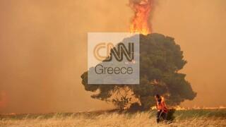 Φωτιές Αττική: Το πύρινο μέτωπο απειλεί Βαρυμπόμπη, Θρακομακεδόνες, Άγιο Στέφανο