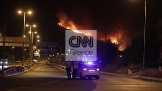 Φωτιές Αττική: Επίθεση σε τηλεοπτικό συνεργείο στους Θρακομακεδόνες