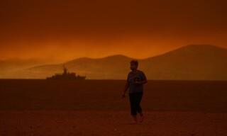 Φωτιά στη Βόρεια Εύβοια: Απόκοσμες εικόνες αποκαλύπτουν το μέγεθος της καταστροφής