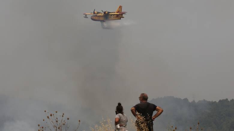 Φωτιές: Ποιες χώρες έστειλαν πυροσβέστες, διασώστες και αεροσκάφη στην Ελλάδα