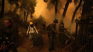 Συνεχίζεται η μάχη με τη φωτιά στην Εύβοια - Κυκλωμένα από τις φλόγες τα χωριά