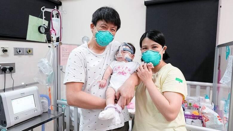 Μωρό-survivor: Στο σπίτι, μετά από 13 μήνες στην εντατική, το «μικρότερο νεογέννητο στον κόσμο»
