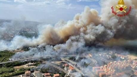Ιταλία: Καίγονται ελληνόφωνα χωριά στην Καλαβρία - Κινητοποιείται η Πολιτική Προστασία