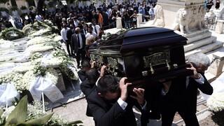 Έγινε η κηδεία του Κωνσταντίνου Μίχαλου στο Α' Νεκροταφείο Αθηνών