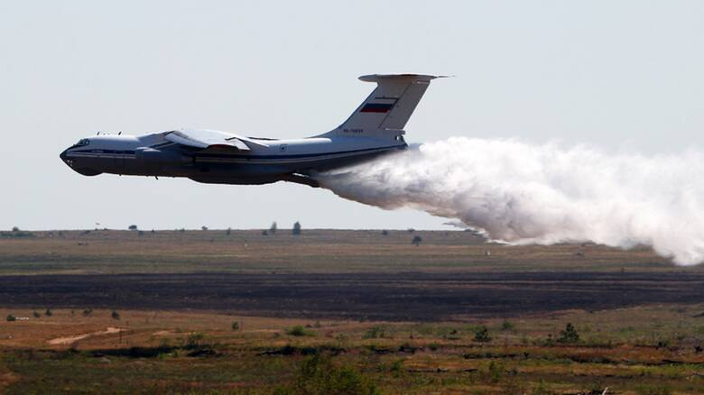 Πυρκαγιές: Η Ρωσία στέλνει τα θηριώδη αεροσκάφη Ilyushin στην Ελλάδα με απόφαση Πούτιν