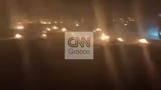 Αποκλειστικό CNN Greece: Αγωνιώδεις προσπάθειες αστυνομικών να σώσουν ζωές στην πύρινη λαίλαπα