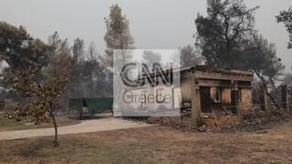 Φωτιές: Σε εξέλιξη οι έλεγχοι κτηρίων σε πυρόπληκτες περιοχές