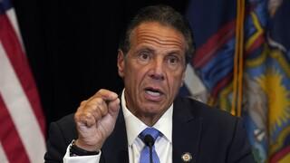 Νέα Υόρκη: Παραιτήθηκε ο Κουόμο μετά τη «βροχή» καταγγελιών για σεξουαλική παρενόχληση