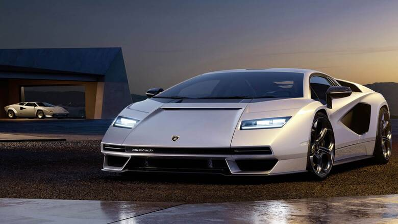 Αυτή είναι η νέα Lamborghini Countach LPI 800-4