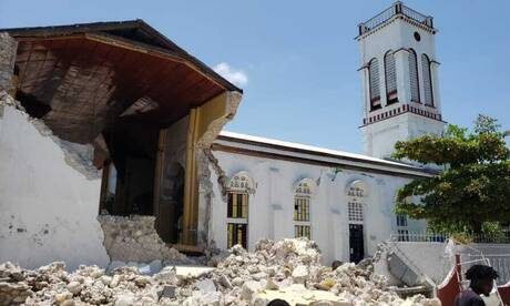 Σεισμός στην Αϊτή: Εικόνες καταστροφής και απόγνωσης μετά τα 7,2 Ρίχτερ