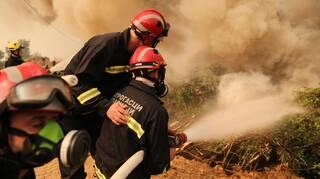 Φωτιά στην Εύβοια: Δραματικές εκκλήσεις πυροσβεστών στον ασύρματο για τη διάσωση χωριού