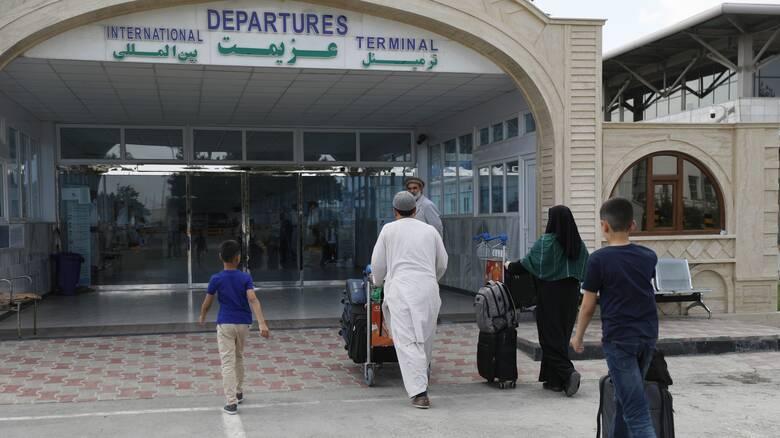 Αφγανιστάν: Ανεστάλησαν όλες οι εμπορικές πτήσεις από το αεροδρόμιο της Καμπούλ